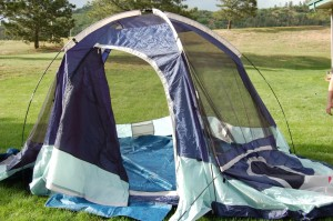 3 room dome tent