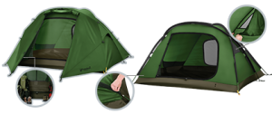 eureka! assault outfitter 4 – tent reviews
