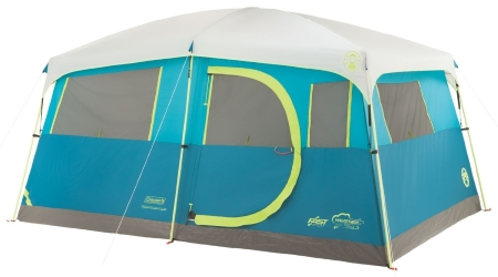 Coleman Tenaya Lake Fast Pitch Cabin Tent 8 Person