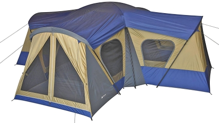 Ozark Trail Base C& 14 Person Cabin Tent ...  sc 1 th 168 & 17 Best Family Tents For Camping With Reviews 2018