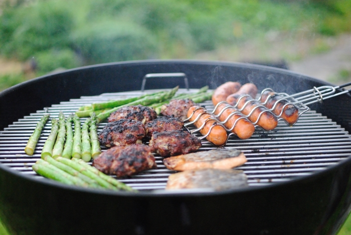 Cooking on a Portable Grill